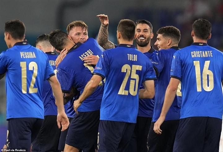 EURO 2020: Tuyển Italy không còn là bông hoa hồng trên khối bê tông-1
