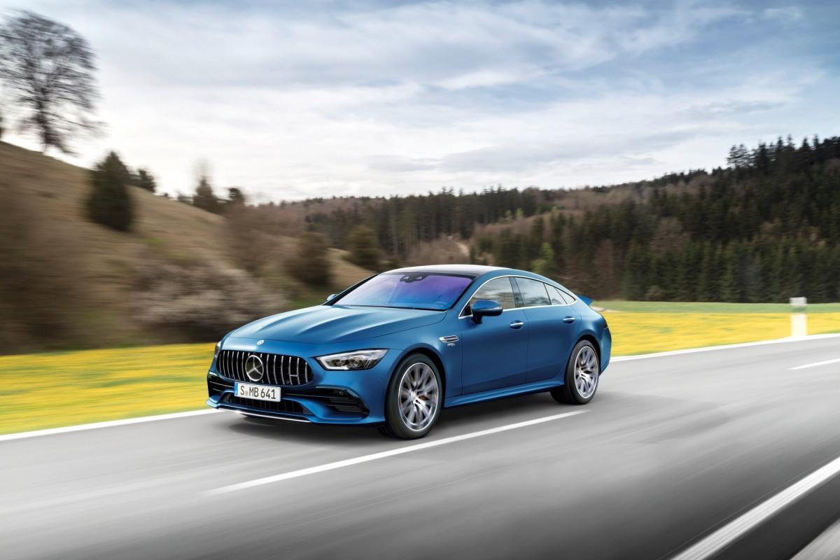 Khám phá nội - ngoại thất Mercedes-AMG GT 4 cửa 2022-1