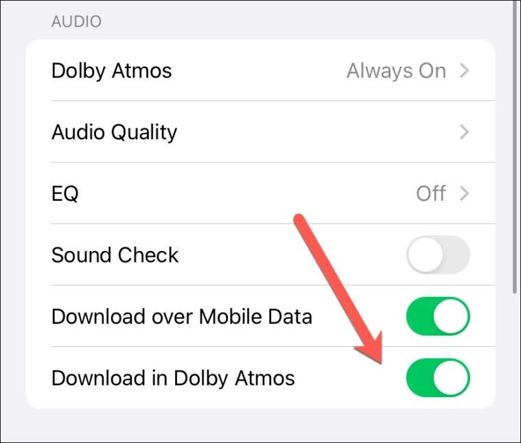 Cách kích hoạt tính năng nghe nhạc chất lượng cao trên iPhone-11