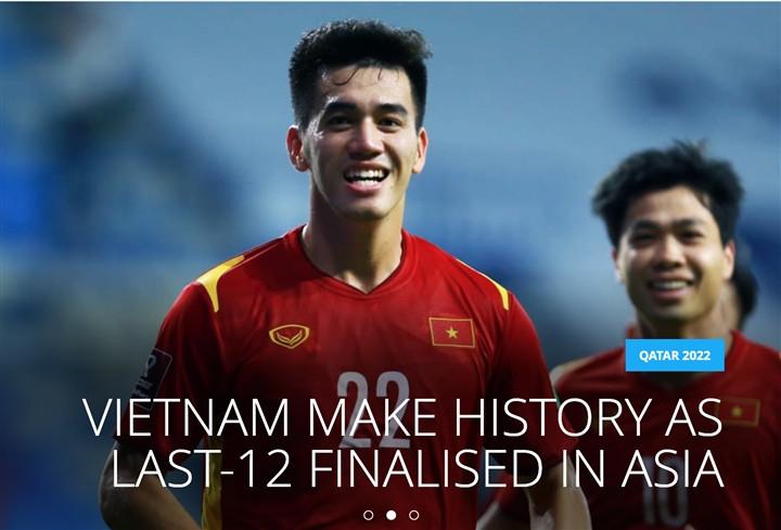FIFA: Tuyển Việt Nam làm nên lịch sử, Tiến Linh bước ra ánh sáng-1