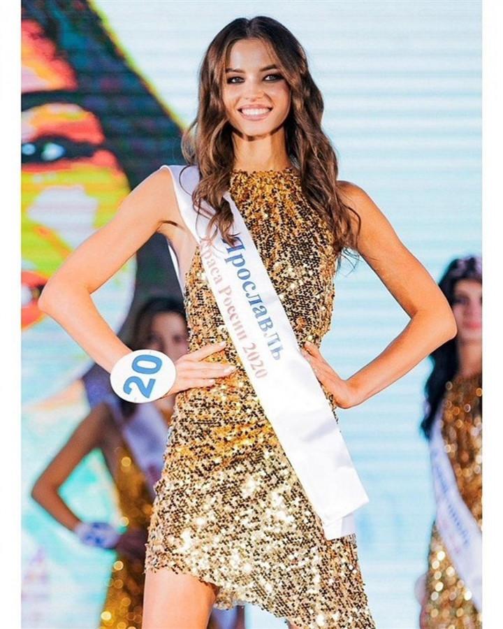 Ảnh: Nhan sắc tân Hoa hậu Trái đất Nga-1