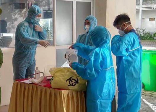 Ca dương tính SARS-CoV-2 thứ 5 tại Nghệ An là một cán bộ công an-1
