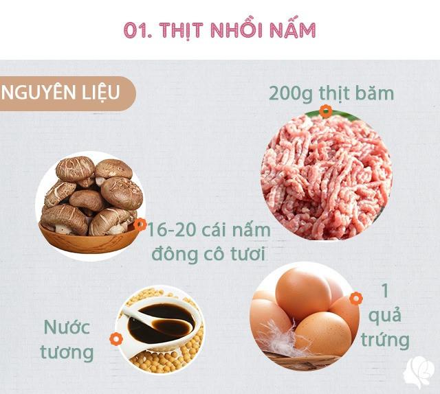 Hôm nay ăn gì: Đổi bữa, vợ nấu món nào cũng ngon, đậm đà, thanh mát trôi cơm ngày nóng-4