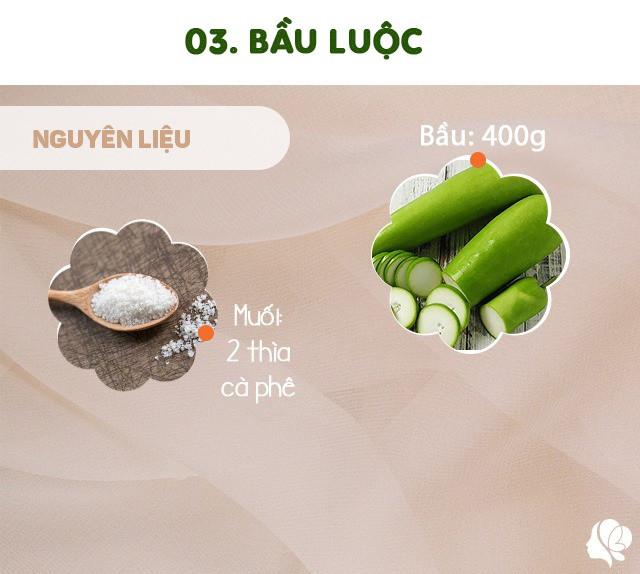 Hôm nay ăn gì: Đổi bữa, vợ nấu món nào cũng ngon, đậm đà, thanh mát trôi cơm ngày nóng-8