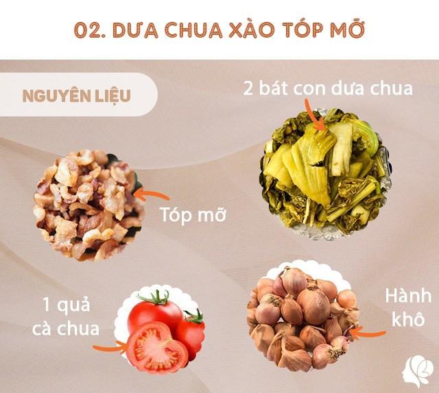 Hôm nay ăn gì: Đổi bữa, vợ nấu món nào cũng ngon, đậm đà, thanh mát trôi cơm ngày nóng-6