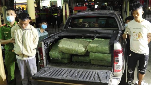 Quảng Bình chất củi đốt hơn 330 kg ma túy-2