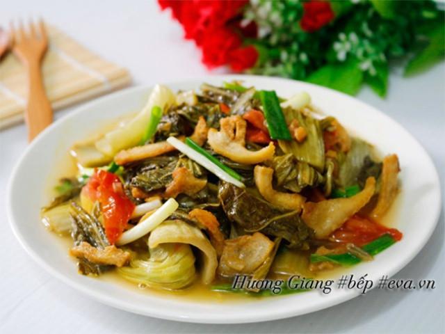 Hôm nay ăn gì: Đổi bữa, vợ nấu món nào cũng ngon, đậm đà, thanh mát trôi cơm ngày nóng-7