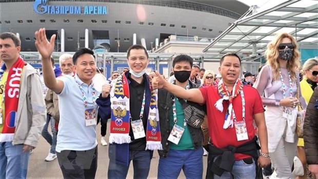 Dau an Viet tai EURO 2020 o thu do phuong Bac cua nuoc Nga hinh anh 2