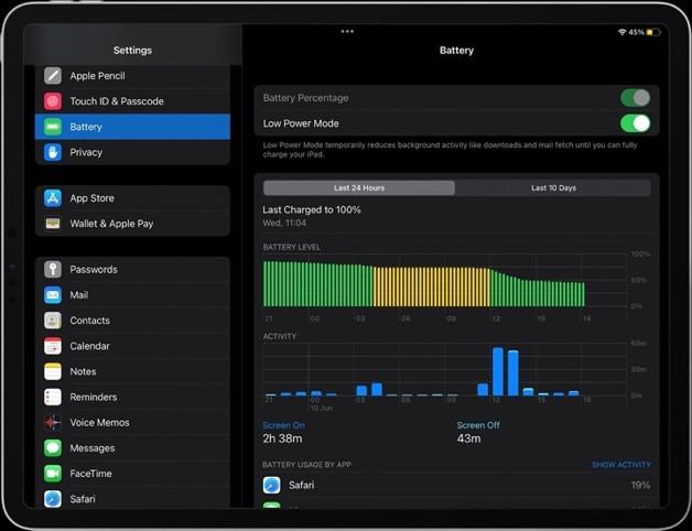 Cách bật chế độ tiết kiệm pin trên iPadOS 15 và macOS Monterey-2