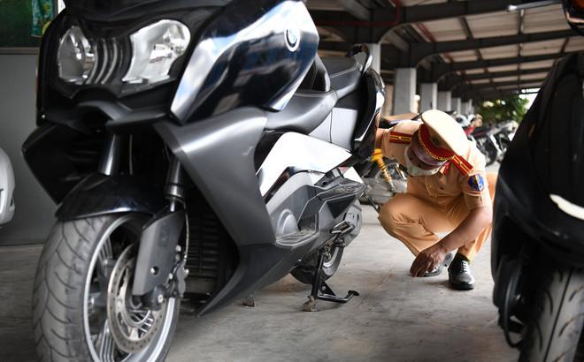 Xe môtô không giấy tờ gần nửa tỷ đồng vận chuyển trên tàu hỏa có bị tịch thu?-1