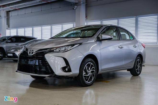 Toyota Vios và các mẫu sedan bình dân được giảm giá trong tháng 6-1