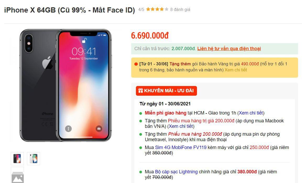 iPhone X, iPhone 11 mất Face ID về Việt Nam với giá rẻ, cẩn thận khi mua-1