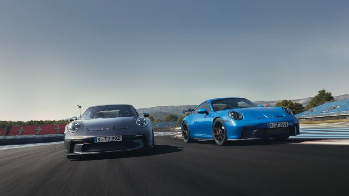 Cận cảnh Porsche 911 GT3 Touring 2022-1