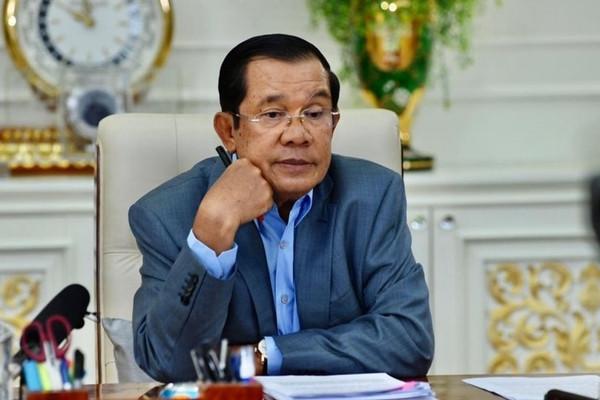 Thủ tướng Campuchia cách ly 14 ngày do tiếp xúc với người nhiễm Covid-19-1