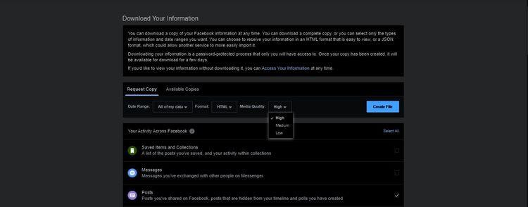 Cách tải ảnh và video trên Facebook về máy tính, điện thoại cá nhân-3