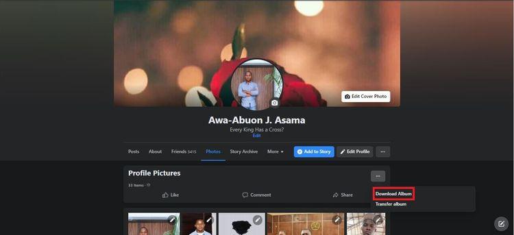 Cách tải ảnh và video trên Facebook về máy tính, điện thoại cá nhân-2