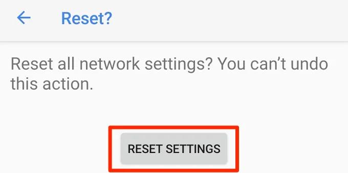 11 cách khắc phục lỗi Android kết nối với Wi-Fi nhưng không có Internet-13