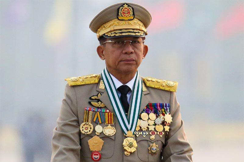 Lãnh đạo quân đội Myanmar công du Nga-1