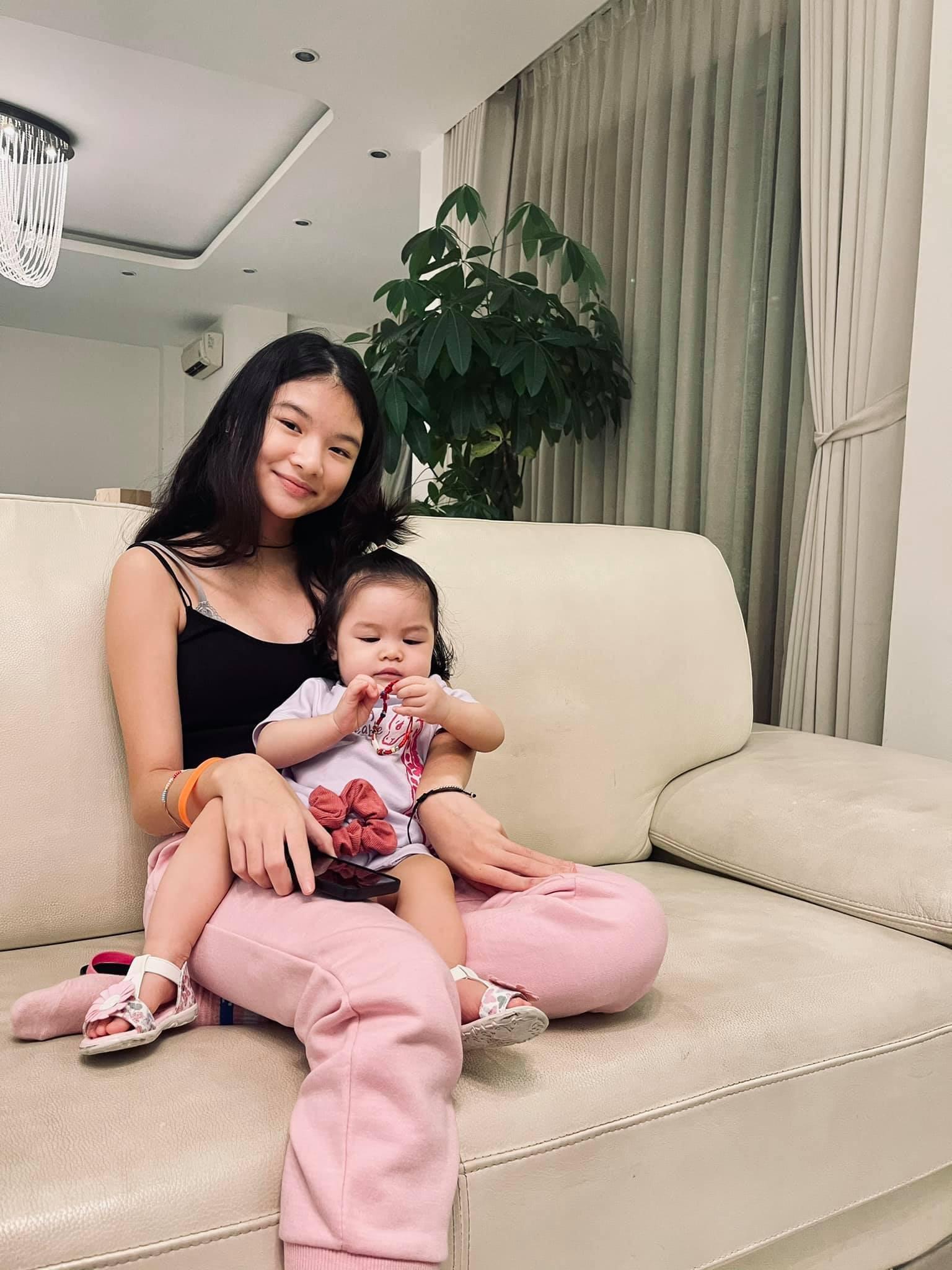 Hai con gái xinh đẹp, đáng yêu của diễn viên Trần Bảo Sơn-2
