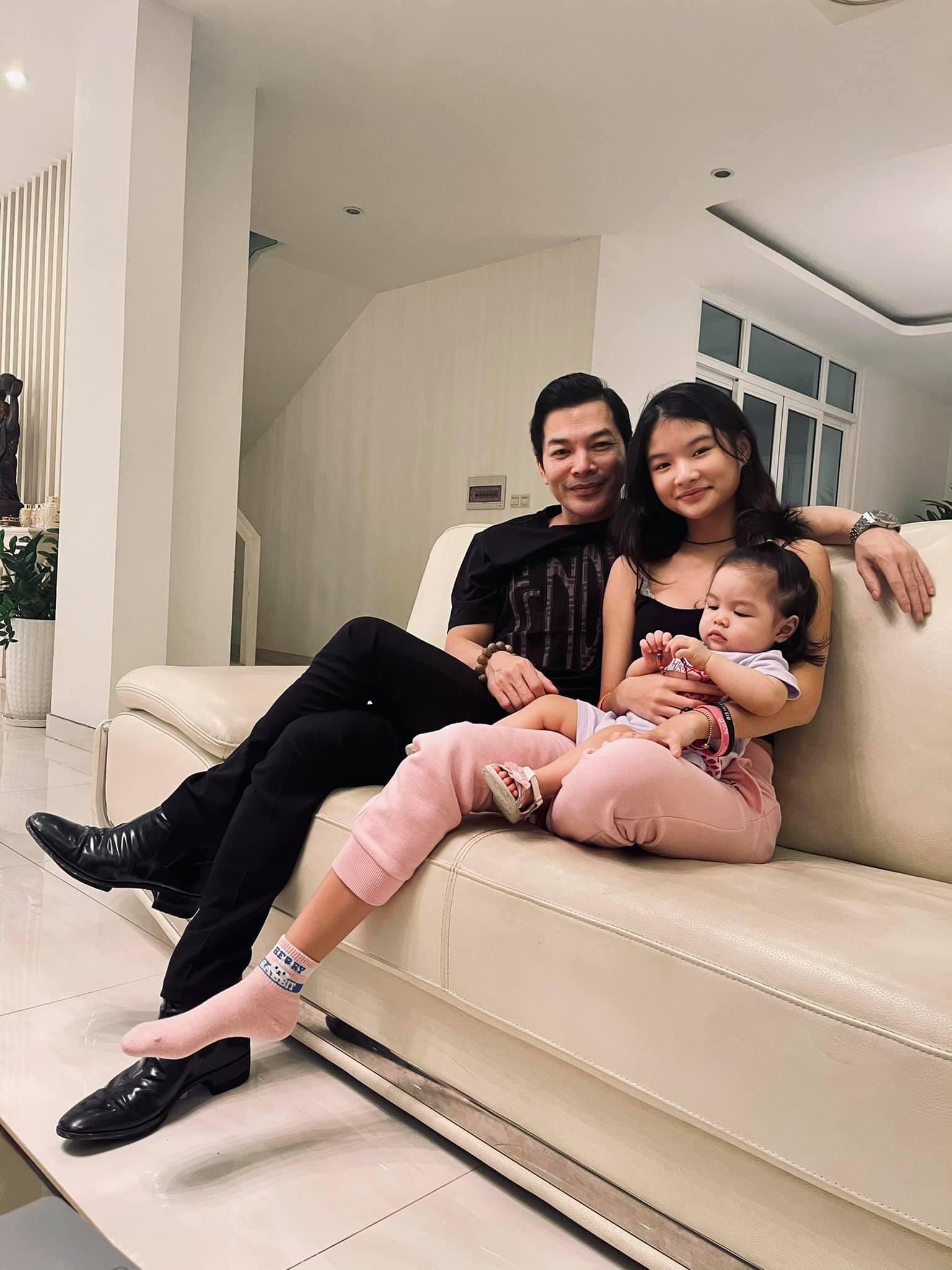 Hai con gái xinh đẹp, đáng yêu của diễn viên Trần Bảo Sơn-1