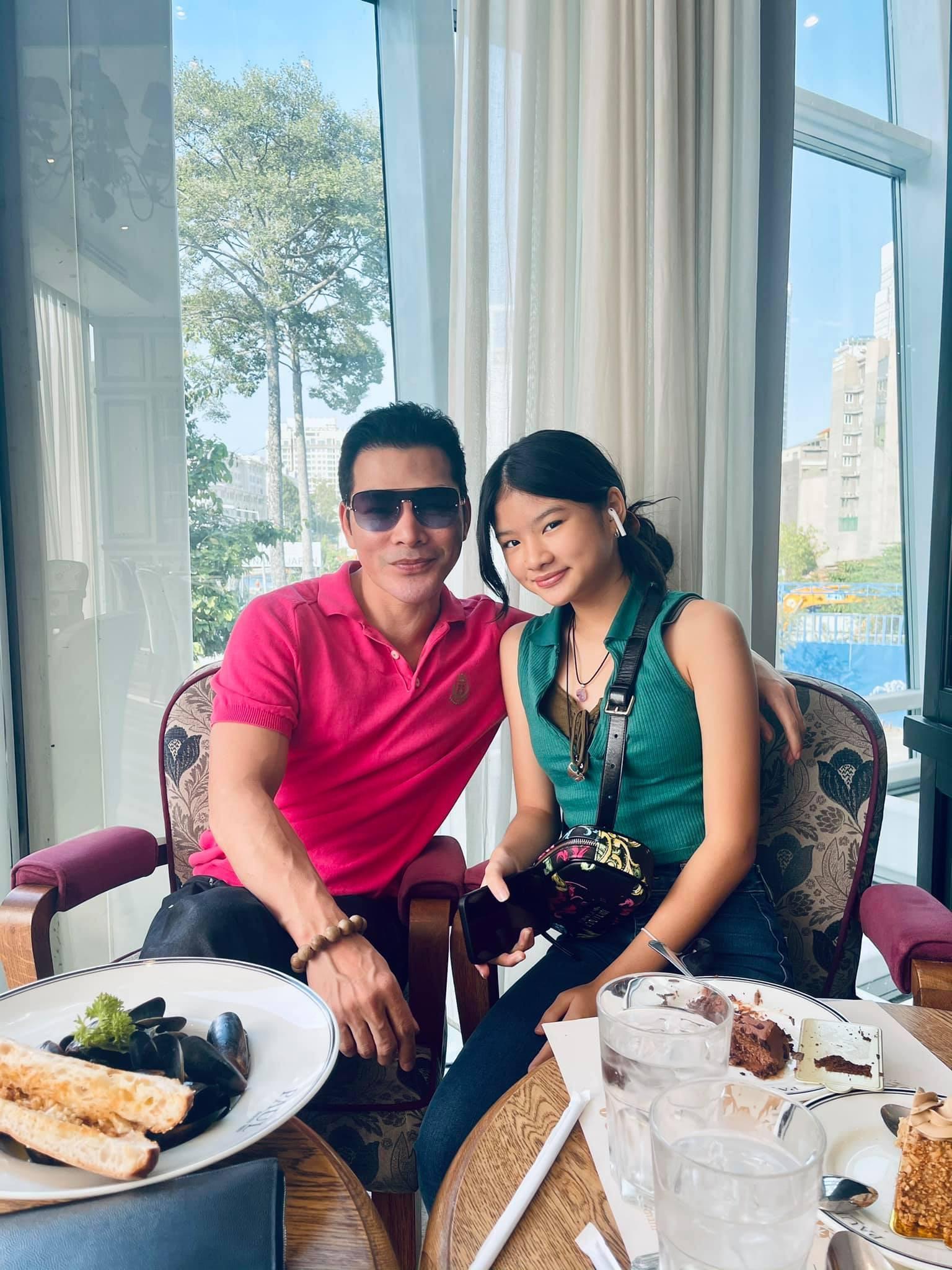 Hai con gái xinh đẹp, đáng yêu của diễn viên Trần Bảo Sơn-6
