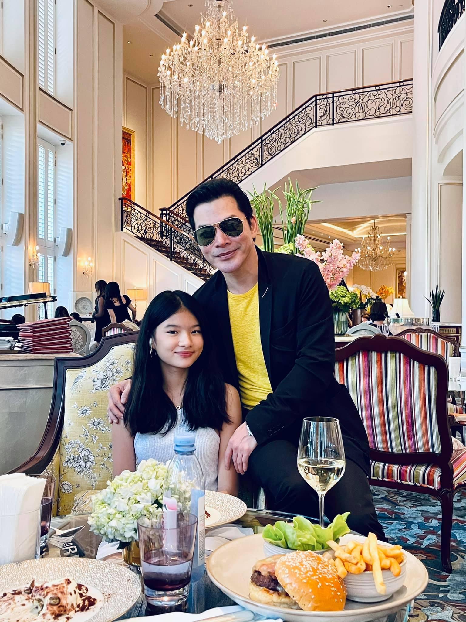 Hai con gái xinh đẹp, đáng yêu của diễn viên Trần Bảo Sơn-5