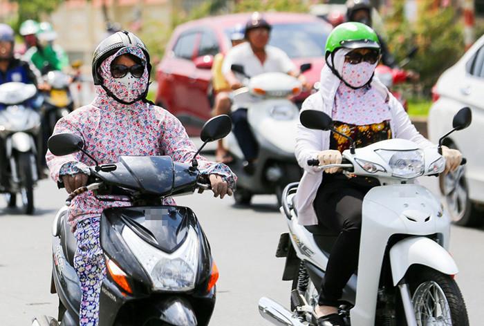 Nắng nóng đỉnh điểm, nữ ninja cần chú ý gì khi ra đường?-1