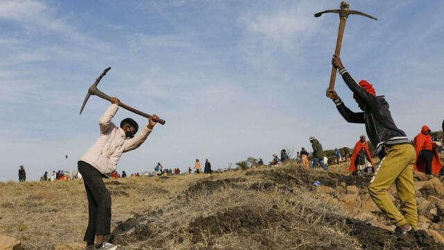 Dân Nam Phi vỡ mộng cơn sốt kim cương-1