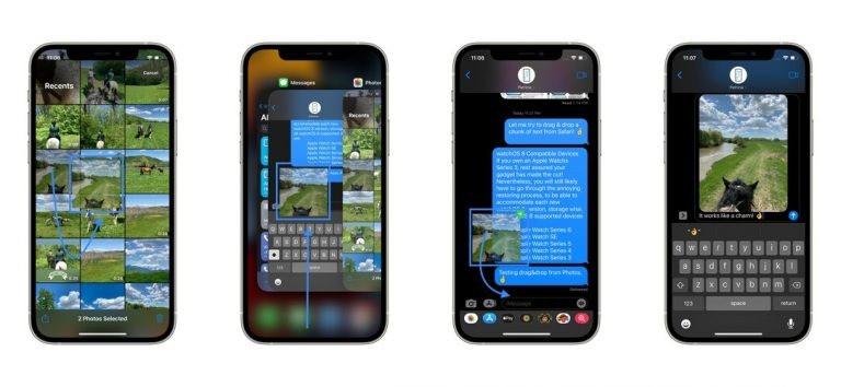Cách kéo thả file giữa các ứng dụng trên iOS 15-2