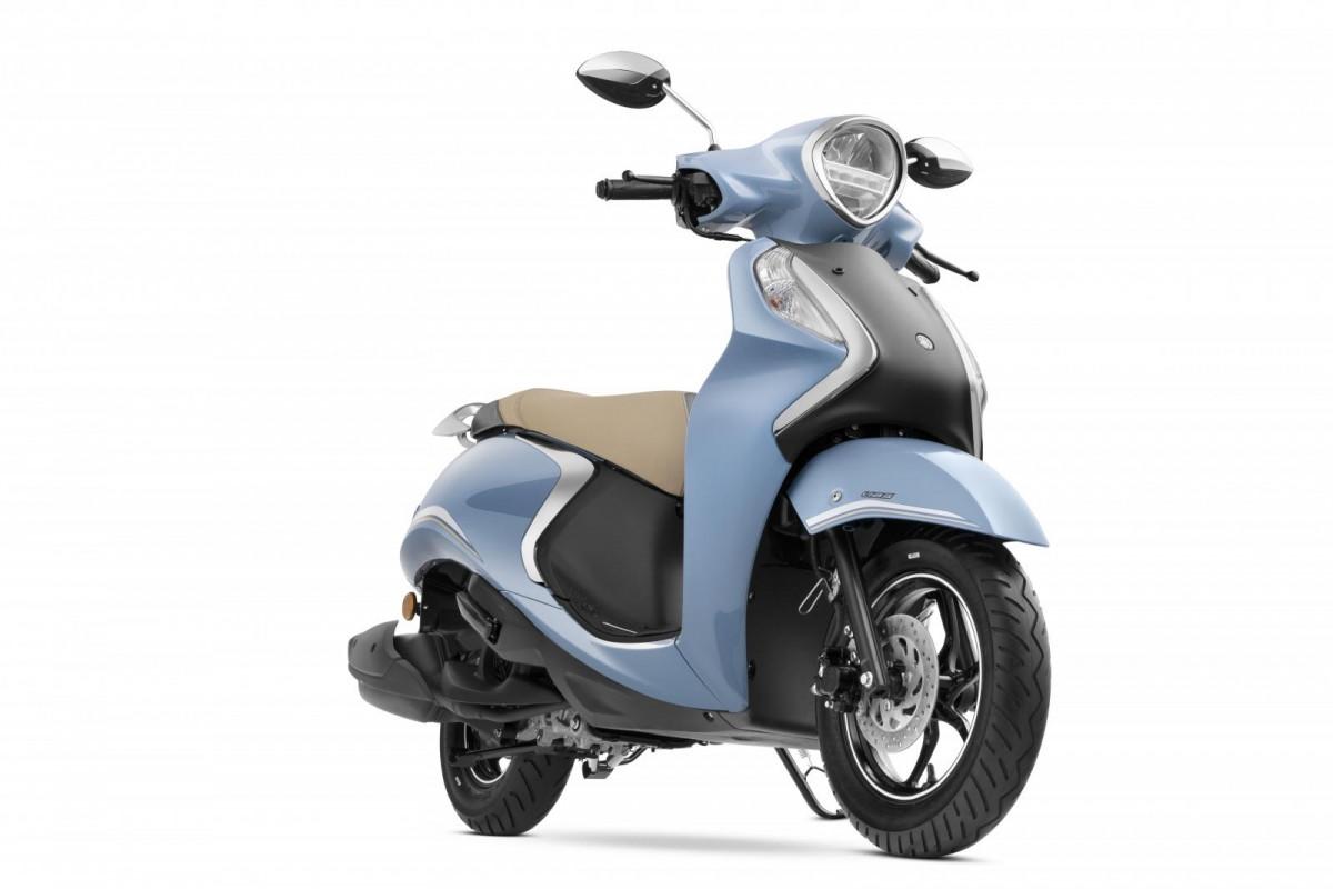 Yamaha Fascino 125 Fi Hybrid mới chính thức ra mắt-1