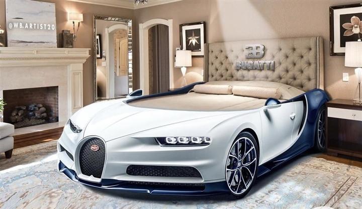 Bugatti Chiron phiên bản giường ngủ xa hoa bậc nhất thế giới-1