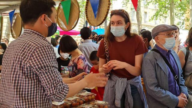 Người tiêu dùng Pháp: Vải thiều Việt Nam ngon hơn hẳn vải Madagascar-1