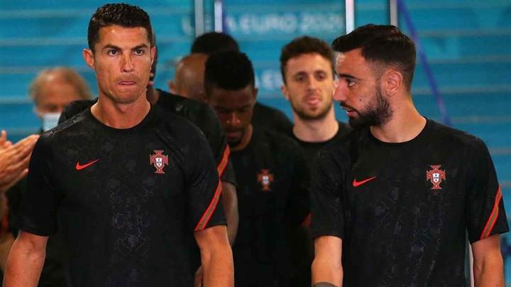 EURO 2020: Chìm trong cái bóng Ronaldo, Bruno Fernandes sa sút khó tin-1