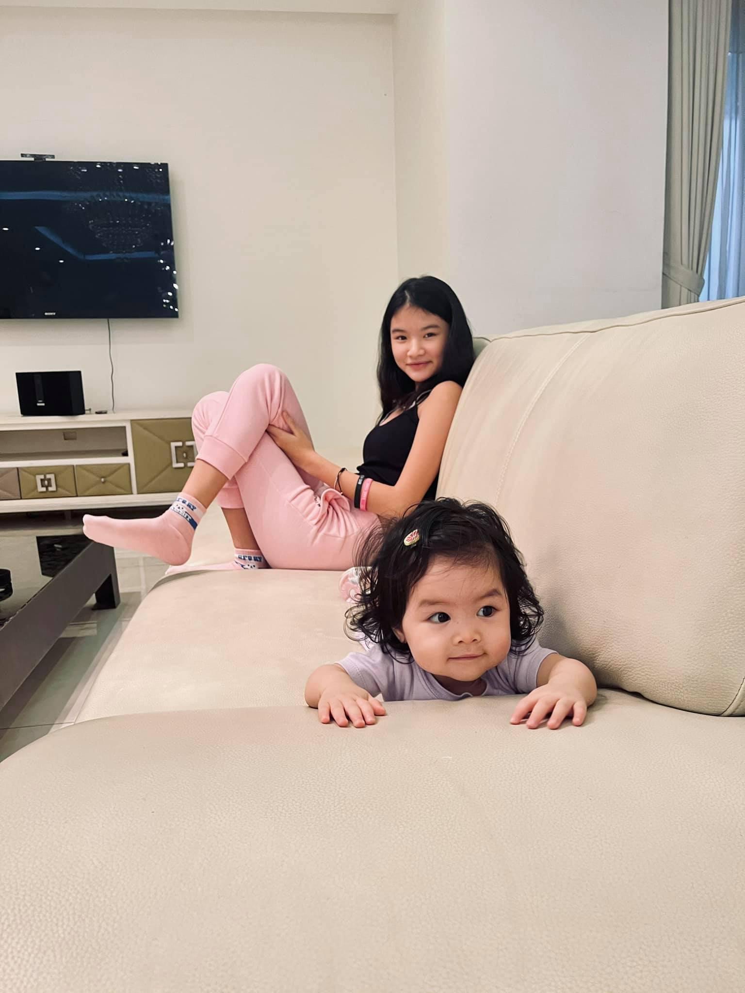 Hai con gái xinh đẹp, đáng yêu của diễn viên Trần Bảo Sơn-3