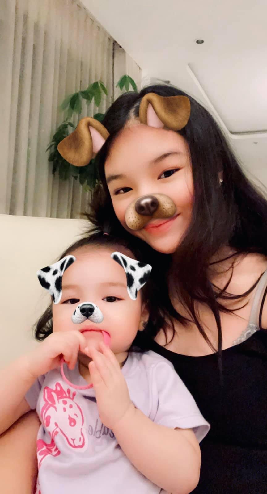 Hai con gái xinh đẹp, đáng yêu của diễn viên Trần Bảo Sơn-4