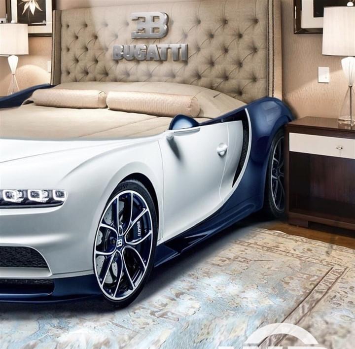 Bugatti Chiron phiên bản giường ngủ xa hoa bậc nhất thế giới-2