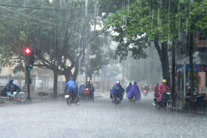 Dự báo thời tiết ngày 23/6: Bắc Bộ mưa to, Trung Bộ nắng gắt-1