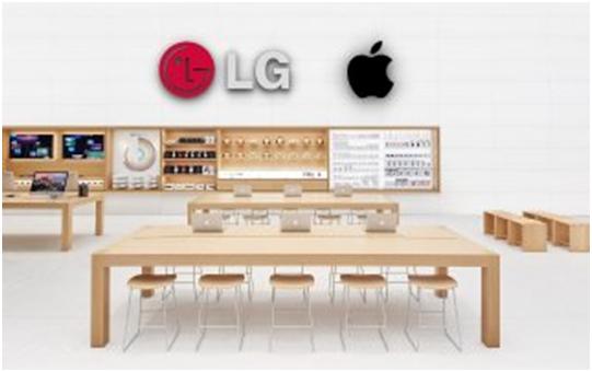Samsung trong tình trạng báo động khi LG quyết định bán iPhone-1