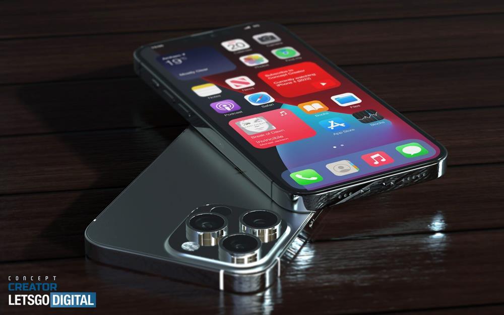 Hình ảnh tuyệt đẹp về iPhone 13 Pro: Khá giống iPhone 12 Pro nhưng tai thỏ nhỏ hơn, ống kính lớn hơn-1