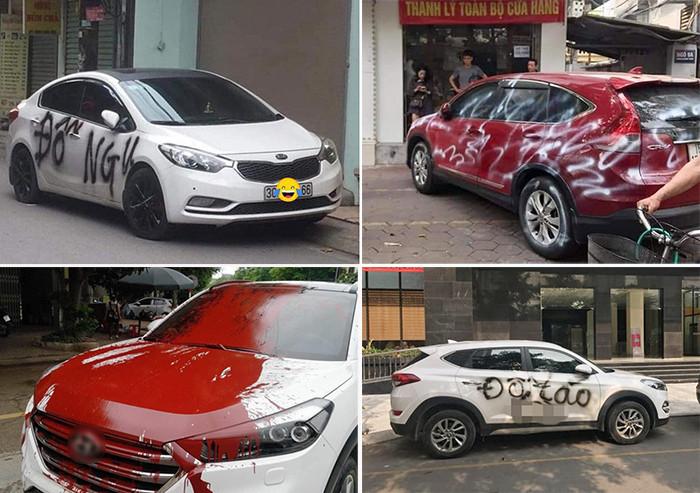 Hành vi tạt sơn lên taxi ở Linh Đàm có thể bị phạt tù đến 20 năm-3
