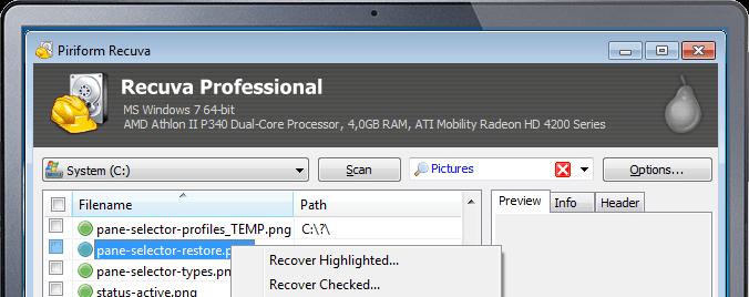 Cách khôi phục dữ liệu trong Windows 10-8