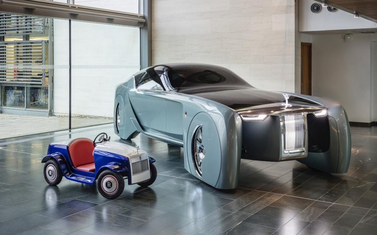 Khám phá mẫu xe đồ chơi độc đáo của Rolls-Royce-1
