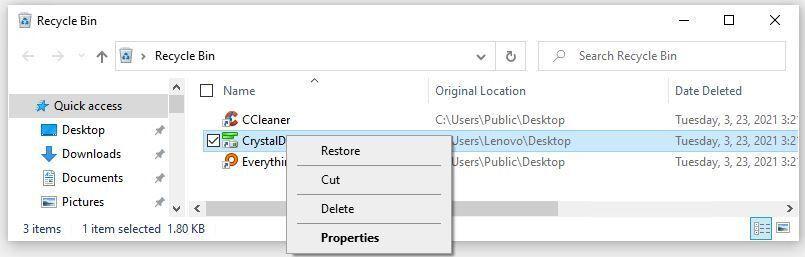 Cách khôi phục dữ liệu trong Windows 10-6