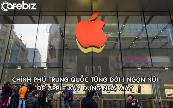 Trung Quốc từng dời cả 1 ngọn núi để Apple xây nhà máy sản xuất-1