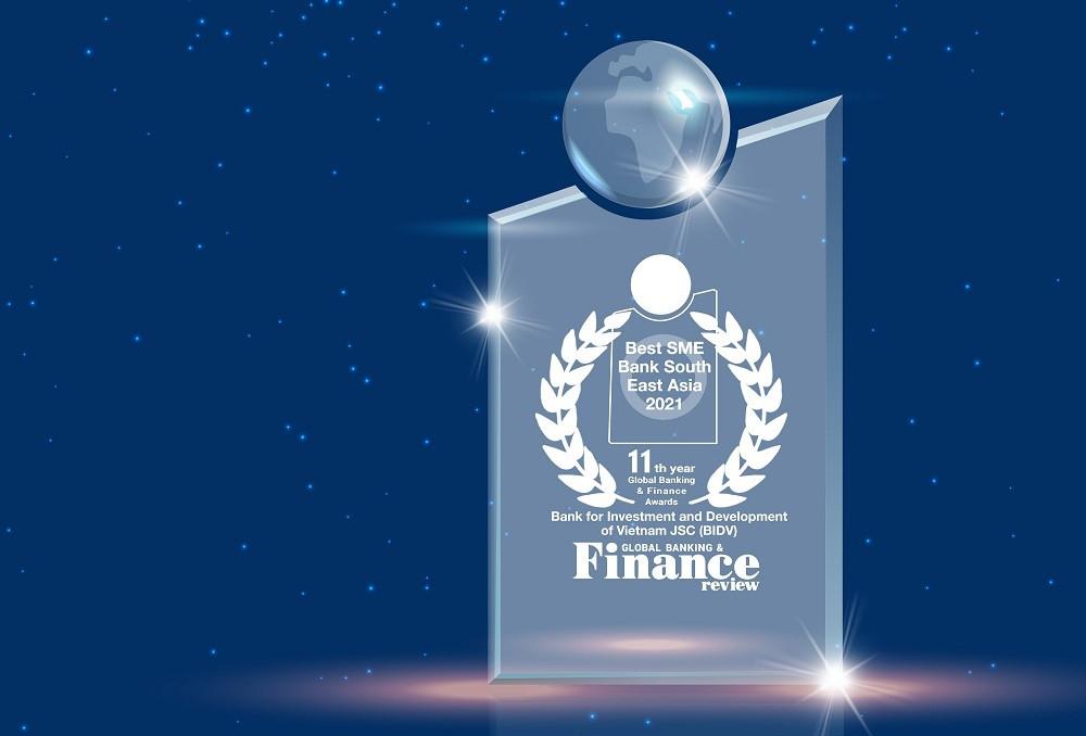 BIDV - Ngân hàng SME tốt nhất Đông Nam Á - 2