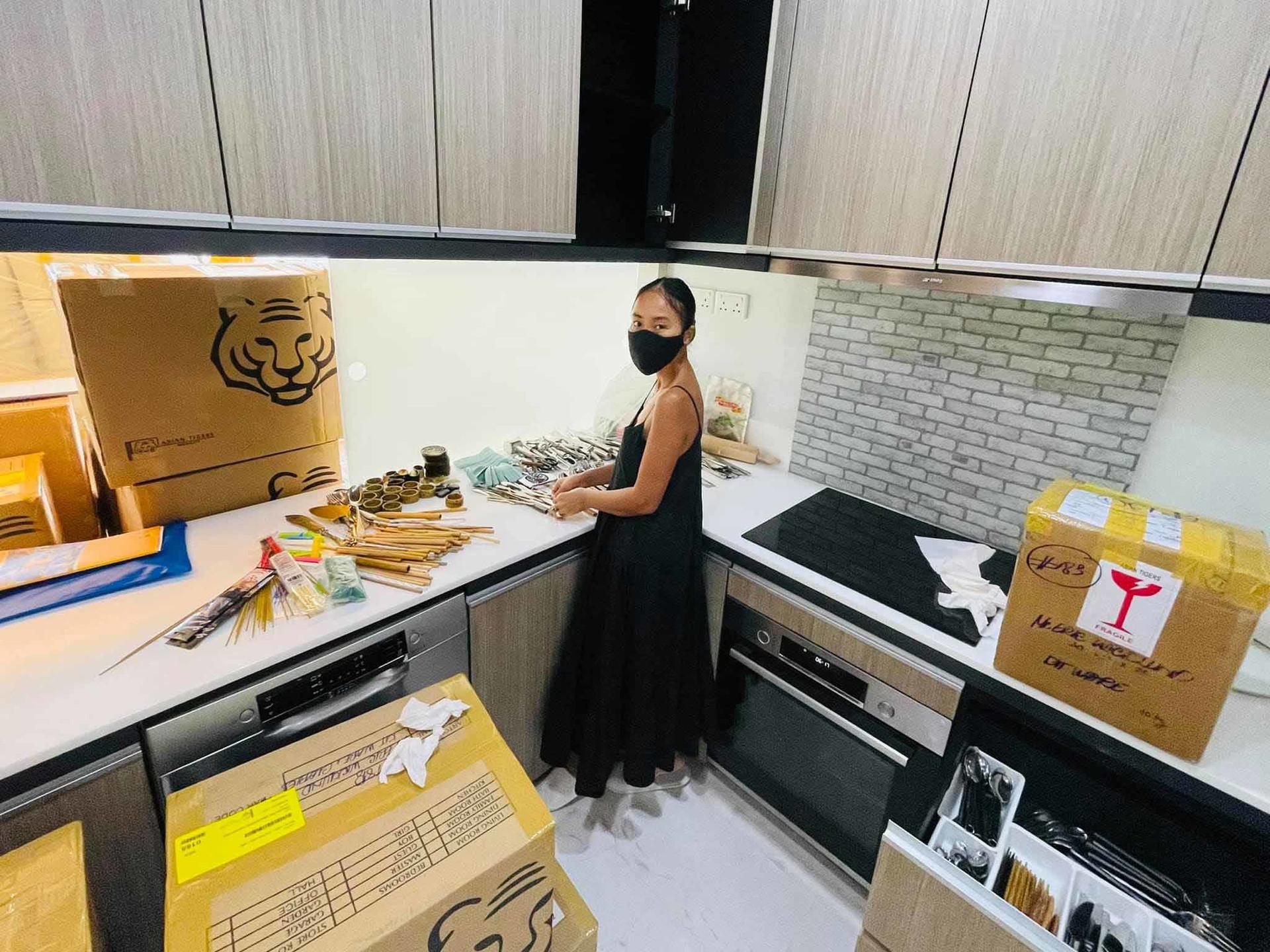 Căn hộ của vợ chồng Đoan Trang ở Singapore-6
