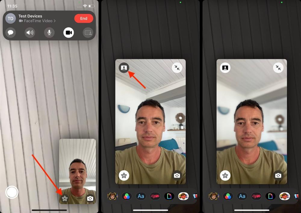 Cách xóa phông nền khi gọi video trên iPhone và iPad-2