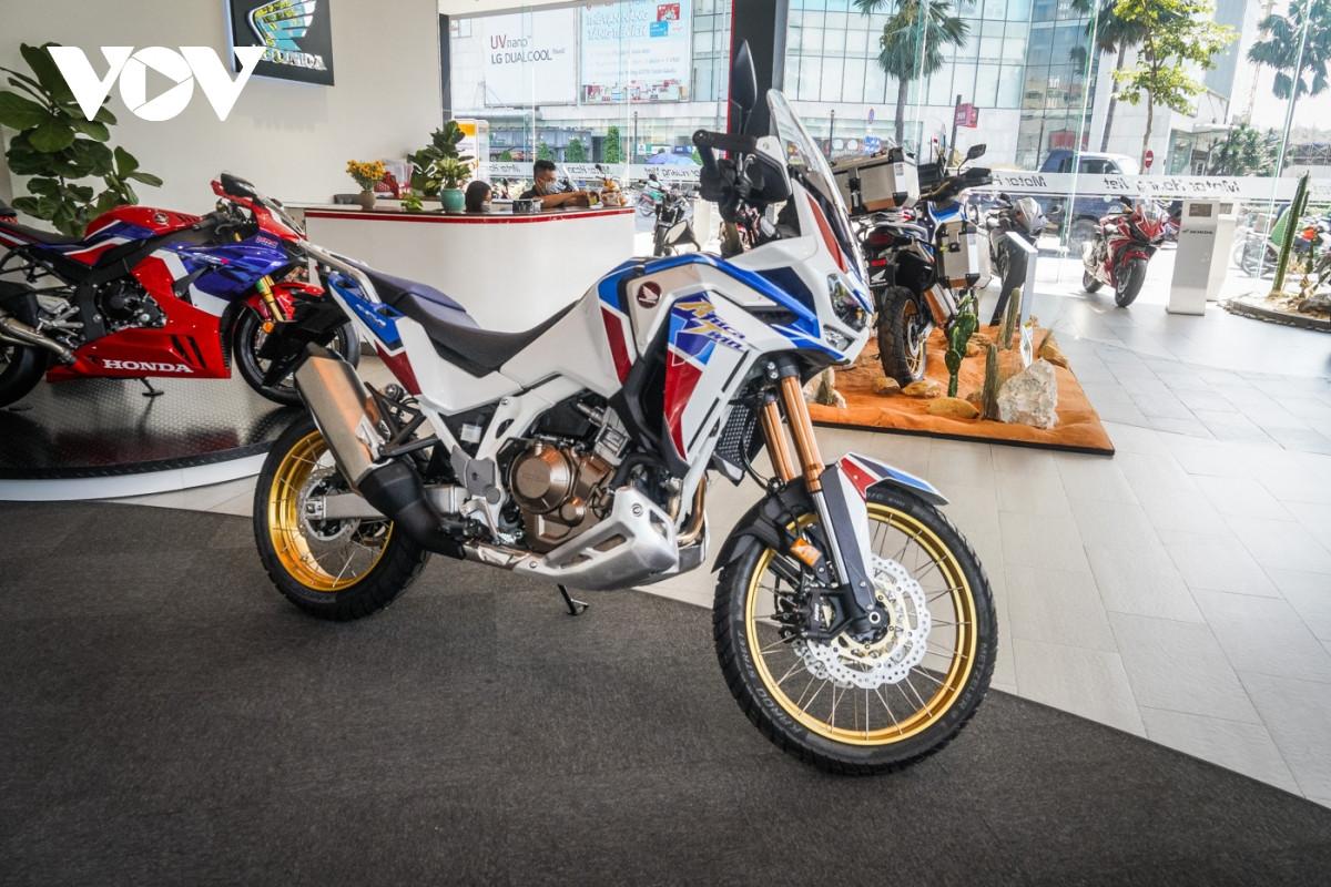 Cận cảnh Honda Africa Twin Adventure Sport giá gần 700 triệu đồng-1