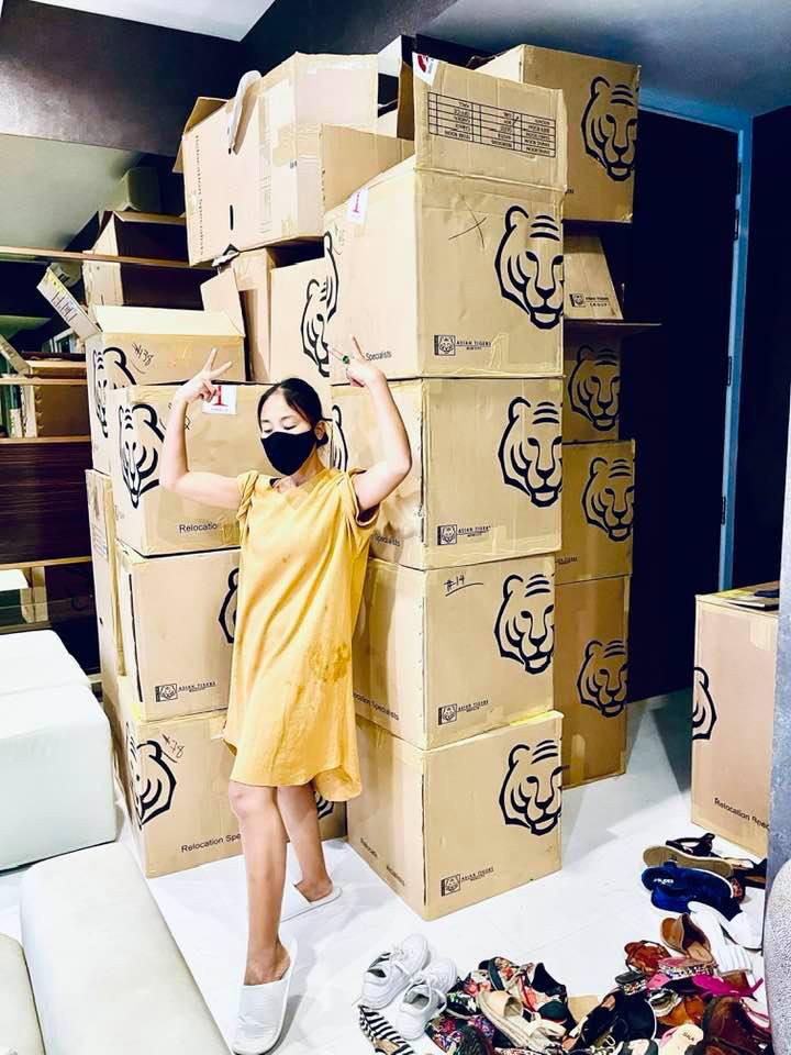Căn hộ của vợ chồng Đoan Trang ở Singapore-1