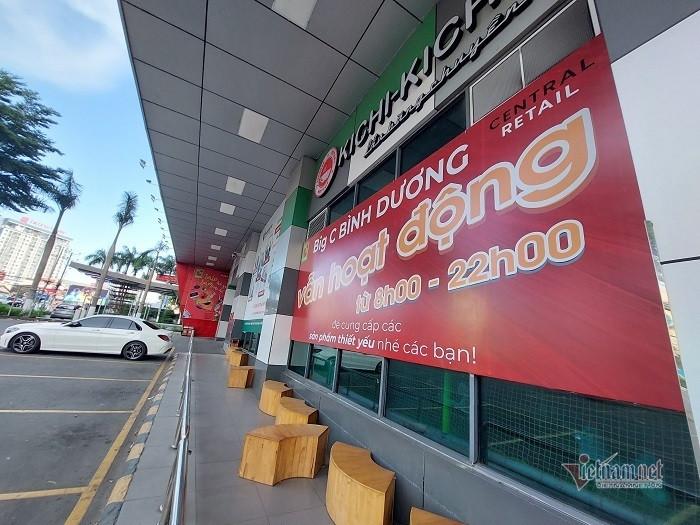 Dỡ bỏ phong tỏa siêu thị Big C Bình Dương và Đồng Nai sau một tuần-1